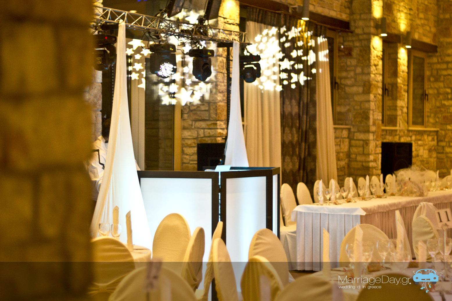 Marriageday.gr set up facade spot Athens