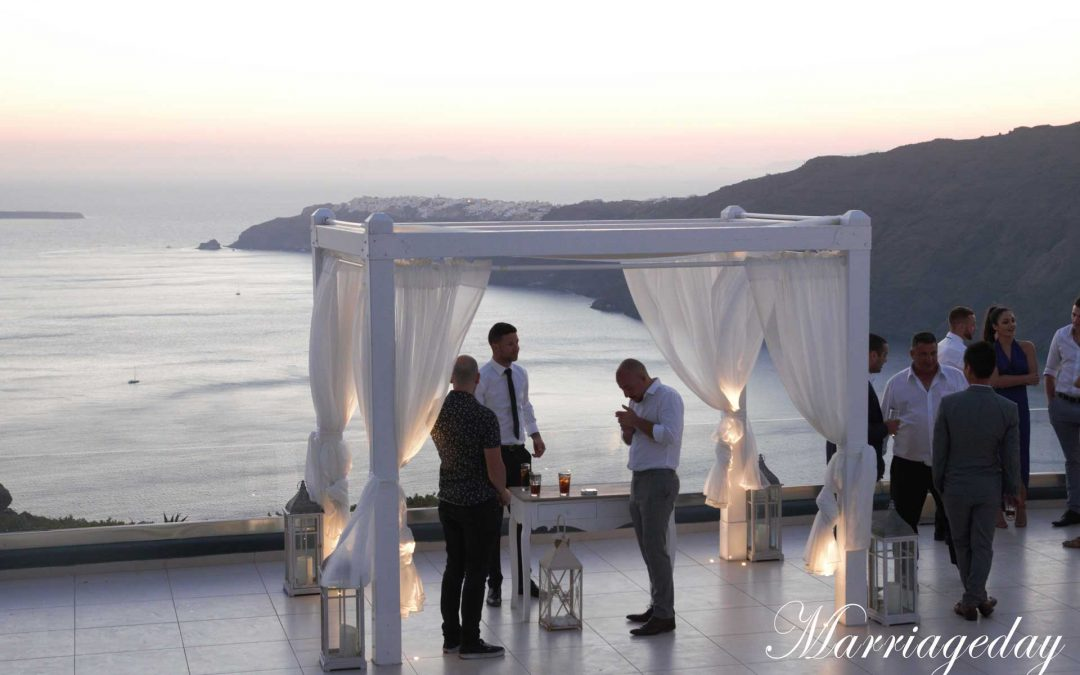 WEDDINGS IN BEAUTIFUL ISLAND SANTORINI