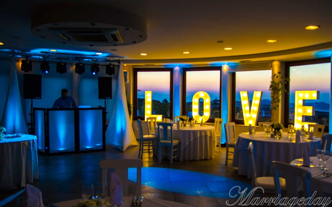 WHY SHOULD I USE LIGHTS IN MY WEDDING RECEPTION IN GREECE?