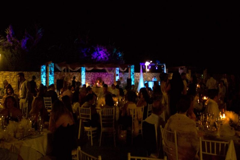 WEDDING DJS IN GREECE SANTORINI MYKONOS ARCHITECTURE LIGHTING UPLIGHTS 3