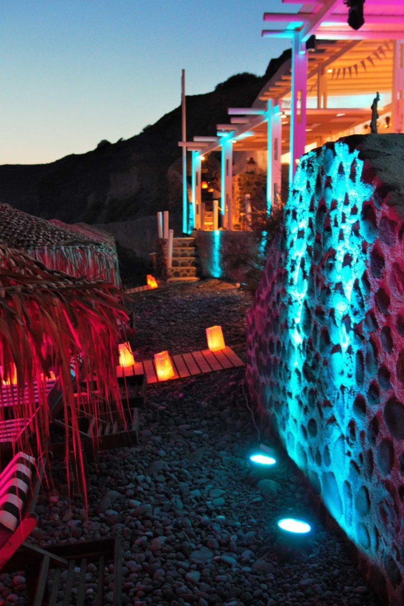 WEDDING DJS IN GREECE SANTORINI MYKONOS ARCHITECTURE LIGHTING UPLIGHTS 5