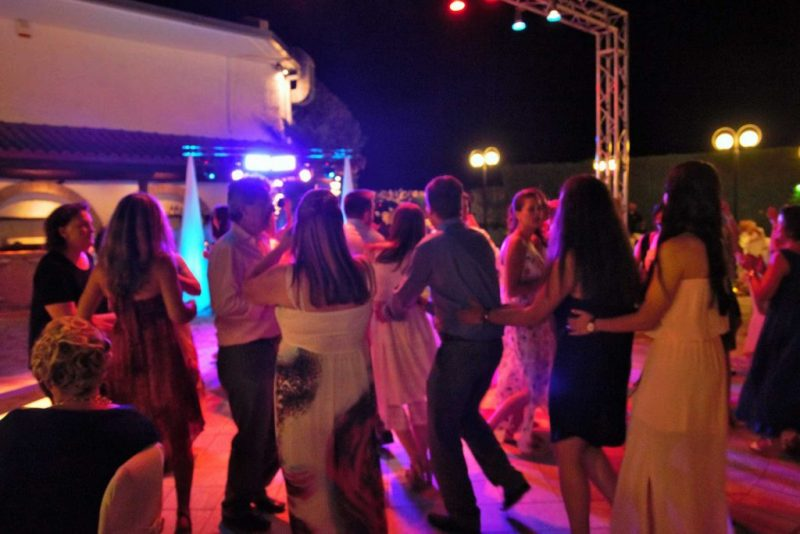 WEDDING DJS IN GREECE SANTORINI MYKONOS DANCE FLOOR LIGHTING 2