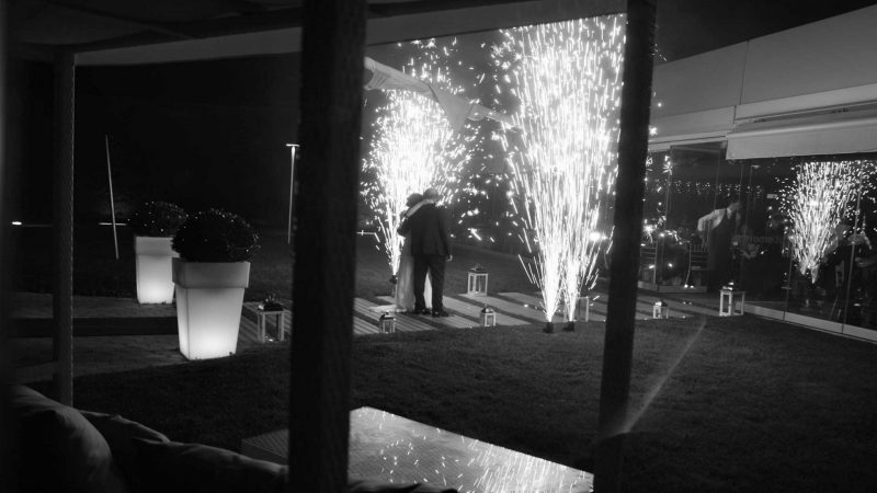 WEDDING DJS IN GREECE SANTORINI MYKONOS GROUND FLOOR FOUNTAIN PYROFLASH FIREWORK 4