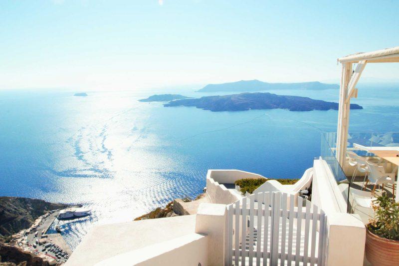 Wedding djs in Santorini best view for weddings