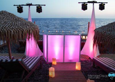Marriageday.gr set up Akro Santorini
